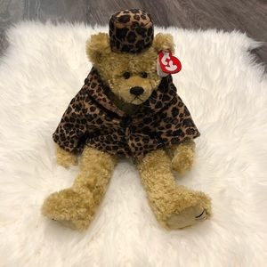 "Ty Beanie Isabella Bear ""Puttin on the Ritz"" NWT"